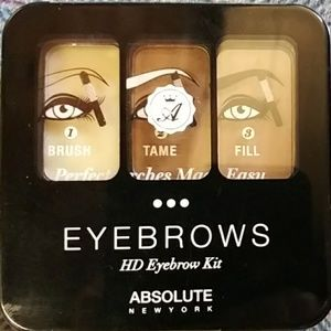 HD eyebrow kit by Absolute New York
